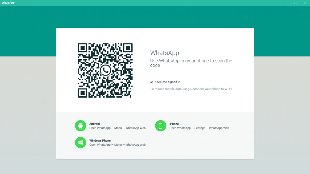 Whatsapp Application For Windows & Mac Is Now Available