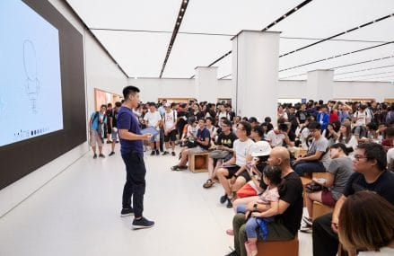 Apple Welcomes Their First Store In Taiwan
