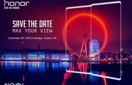 Honor Will Launch A New Smartphone With 18:9 Display On December 5 – Probably The Honor 10 !