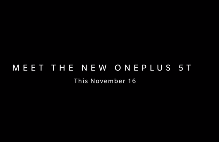 OnePlus 5T Will Launch In New York On November 16th