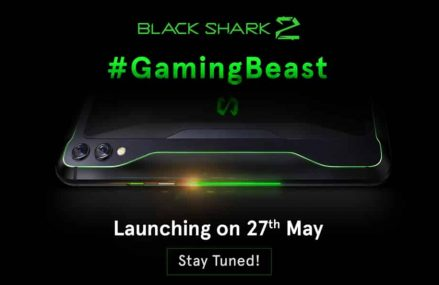 Xiaomi To Launch Their Black Shark 2 Gaming Smartphone In India On 27th May
