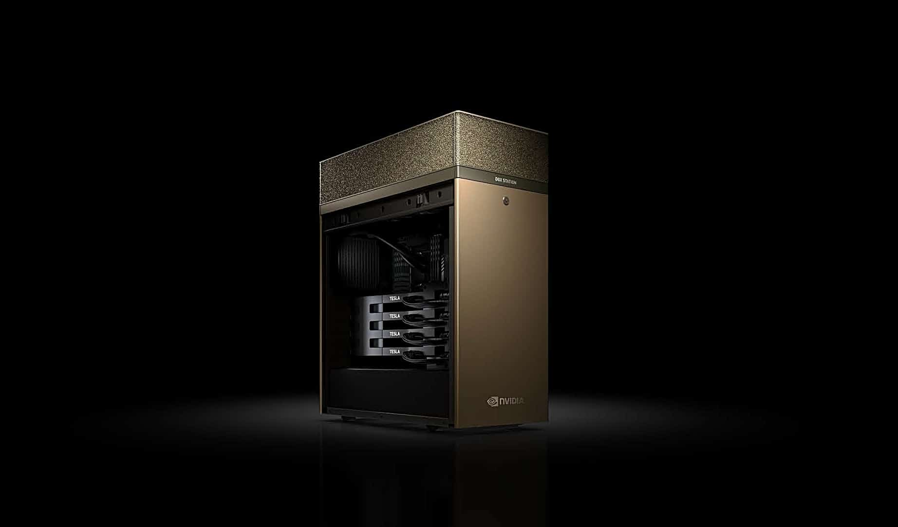 NVIDIA DGX Station Is A Personal Supercomputer That Will Cost You 69000 USD
